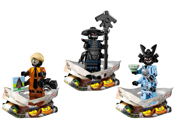 Ninjago Movie Minifigures Garmadons