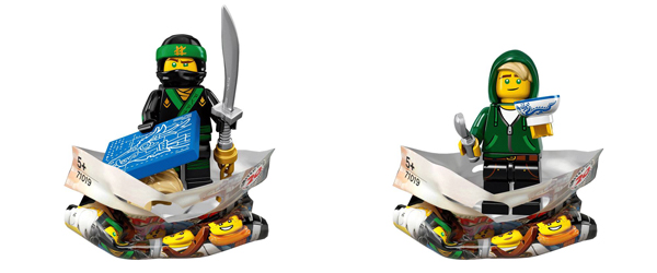 Ninjago Movie Minifigures Lloyds