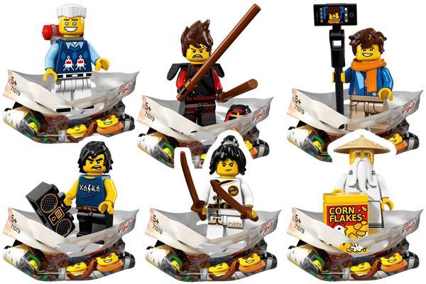 Ninjago Movie Minifigures Ninja Crew