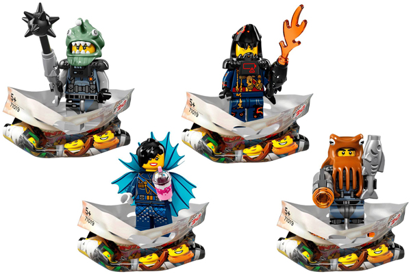Ninjago Movie Minifigures Shark Army