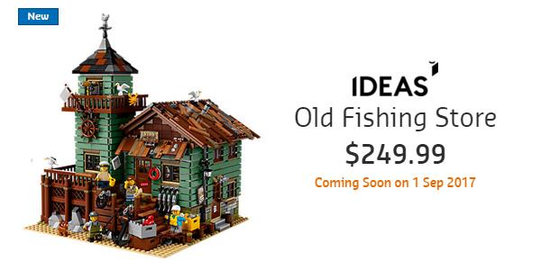 Old Fishing Store Australian RRP