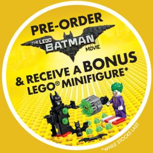 Sanity LEGO Batman Bonus