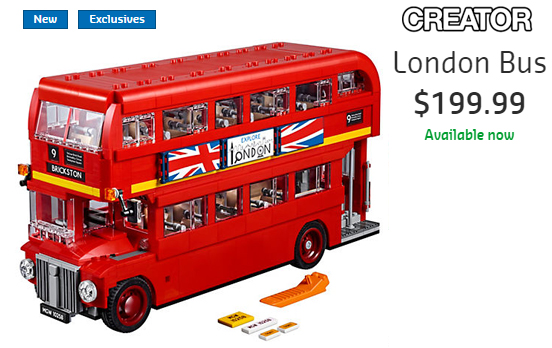 10258 London Bus VIP Now Available