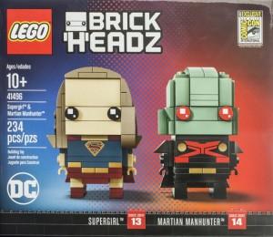 SDCC Supergirl Martian Manhunter