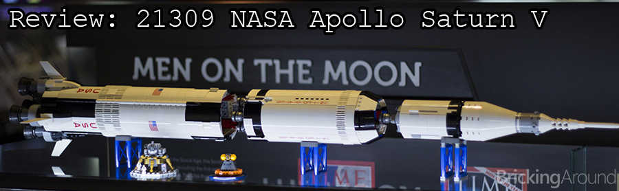21309 Saturn V Review Banner