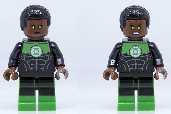 DC BYOA Green Lantern Face Prints