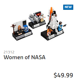 21312 Women of NASA AU Price