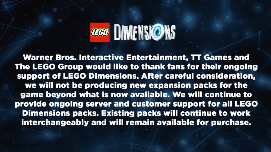 LEGO Dimensions Ending