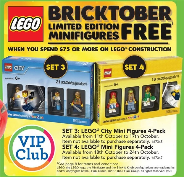 TRU Bricktober Weeks 3-4