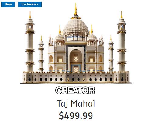 10256 Taj Mahal Release