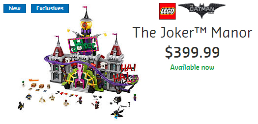 70922 Joker Manor Now Available