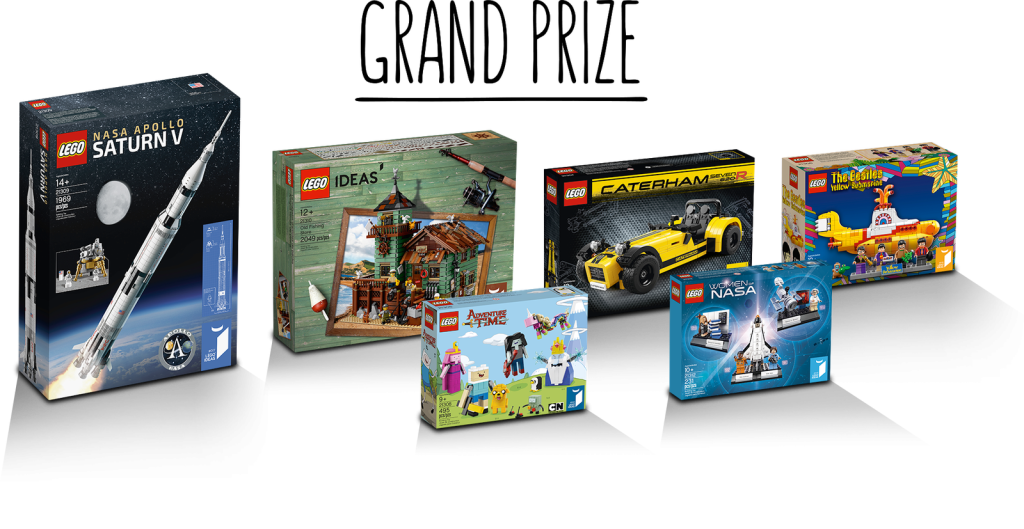 LEGO Ideas Build Logo Grand Prize