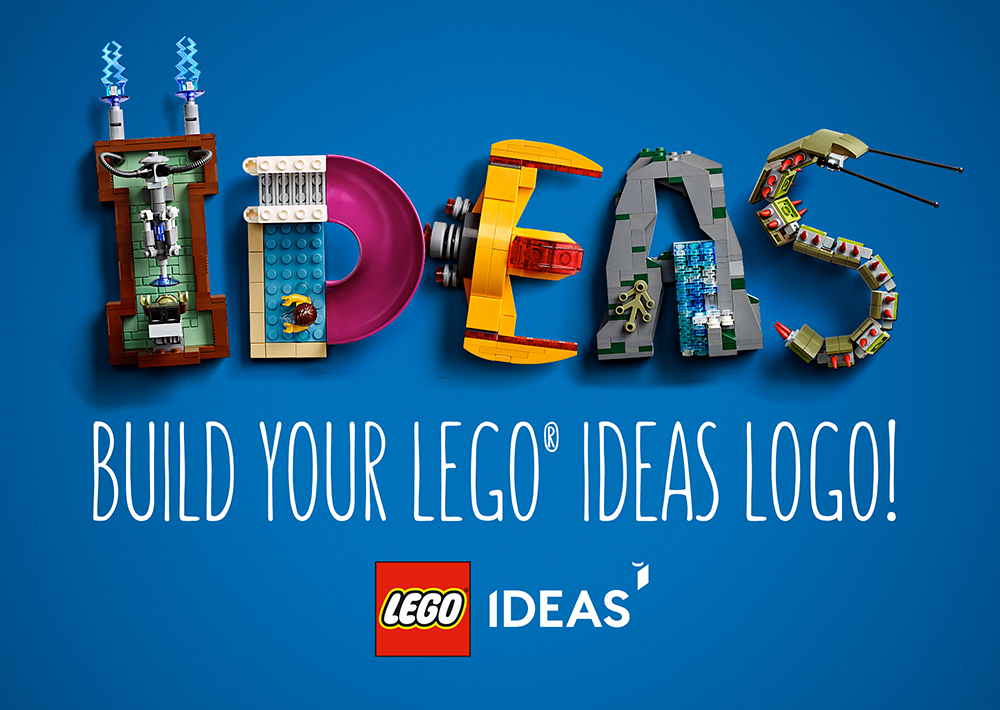 LEGO Ideas Build Logo Main Image