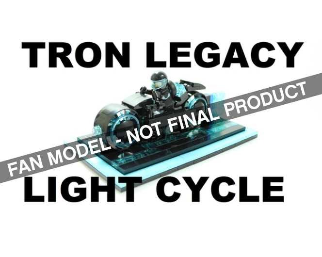 Tron Legacy LEGO Ideas Non Final