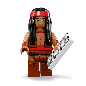 TLBM Minifigures S2 Apache Chief