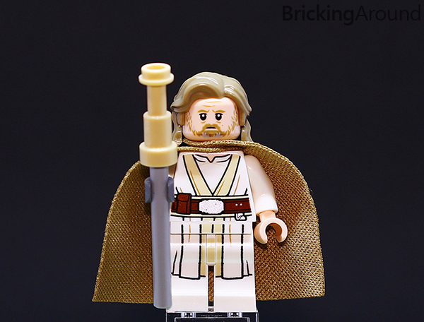 Ahch-To Island Training 75200 Minifigure Luke Staff