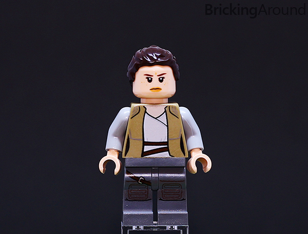 Ahch-To Island Training 75200 Minifigure Rey Angry