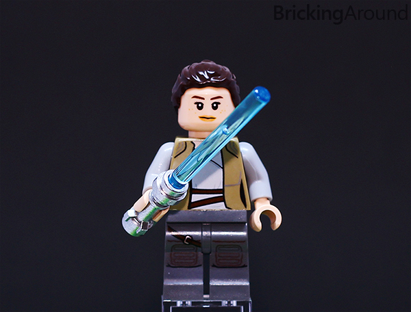 Ahch-To Island Training 75200 Minifigure Rey Lightsaber