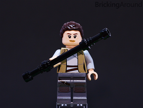 Ahch-To Island Training 75200 Minifigure Rey Staff