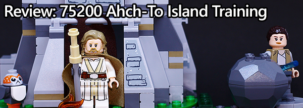 Ahch-To Island Training 75200 Review Banner