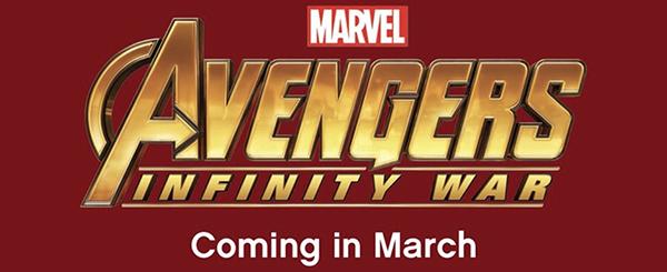 CATALOGUE 1HY2018 Infinity War