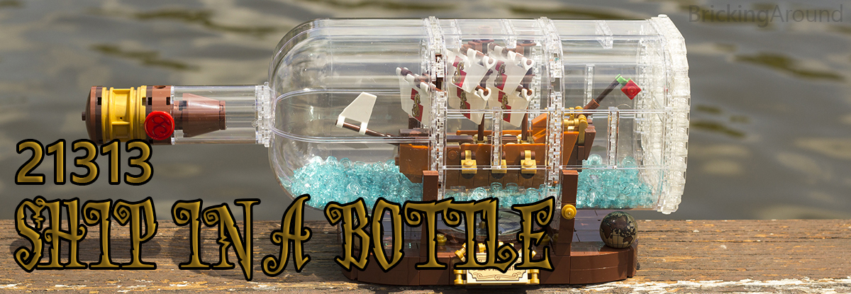 21313 Ship In a Bottle Ship Banner