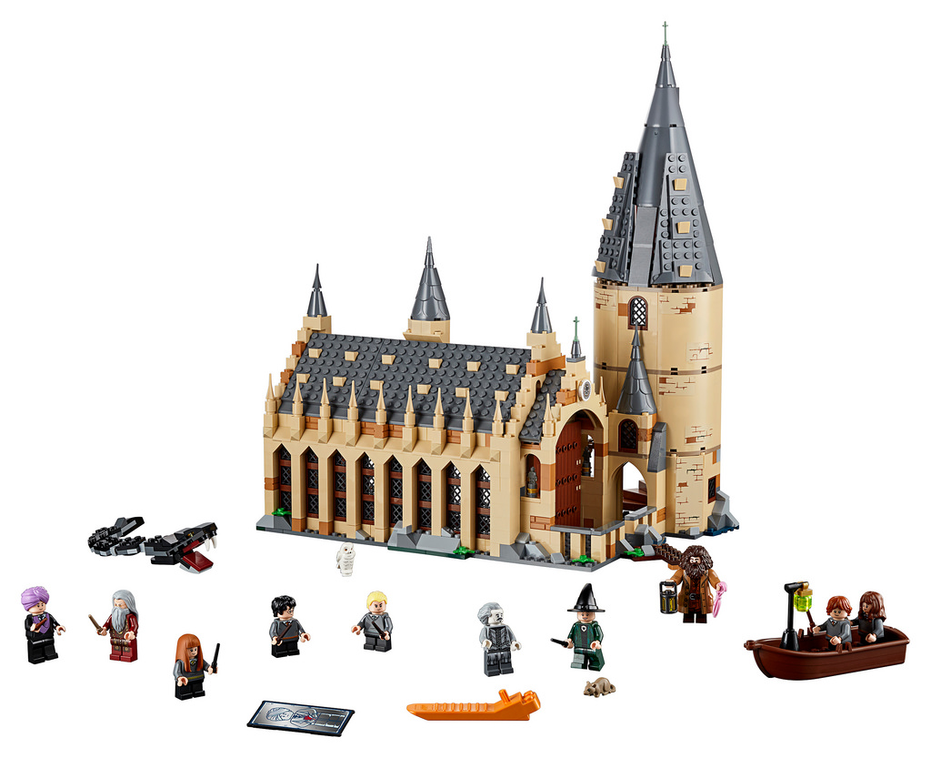 75954 Hogwarts Great Hall Detail