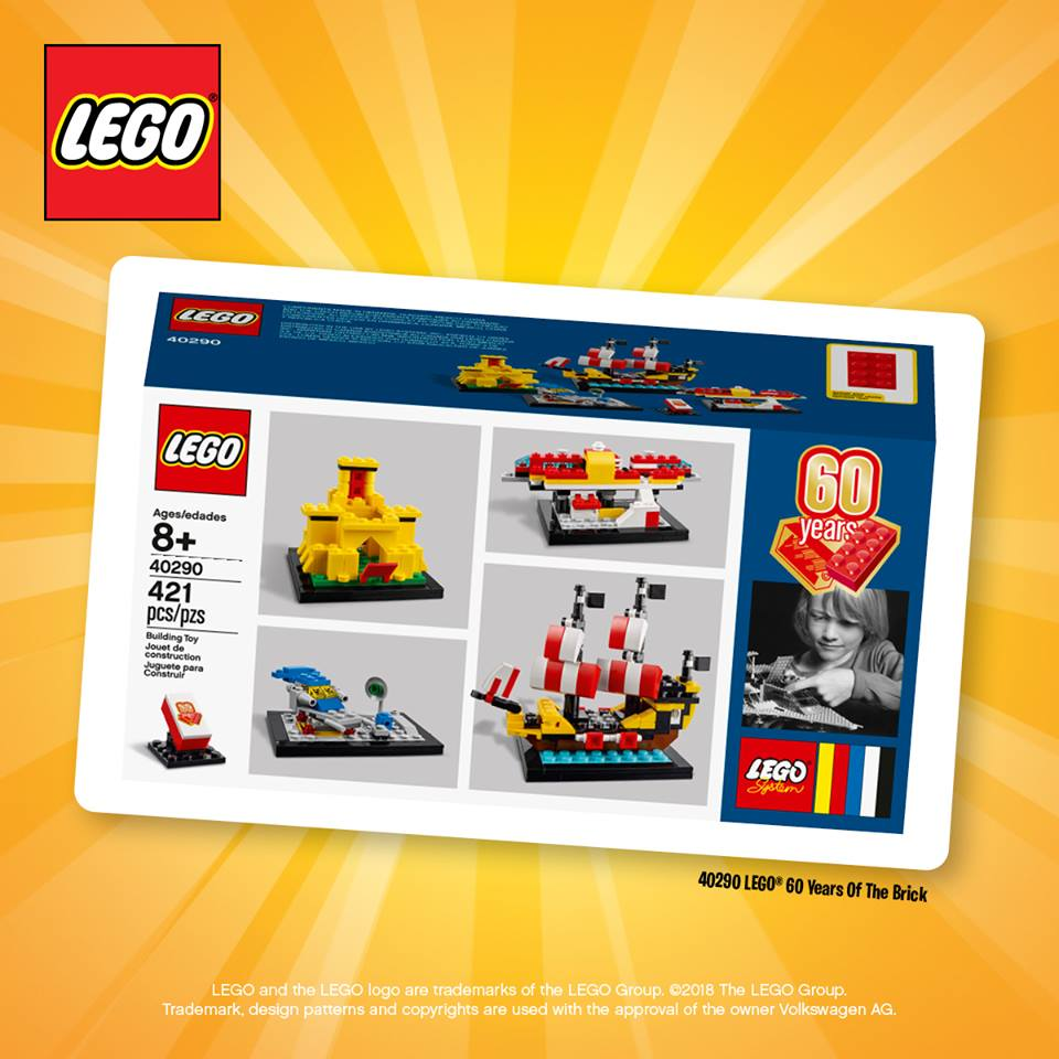 Dreamworld LEGO 60th Set