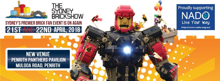 Sydney Brick Show 2018 Banner