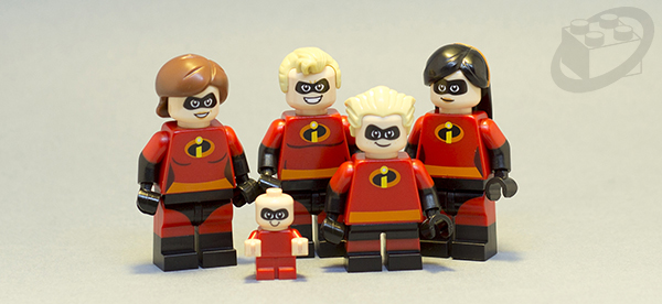 LEGO Juniors Incredibles 2 Family