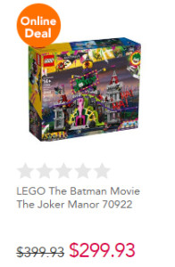 Toys R US Frenzy Mayhem Joker Manor