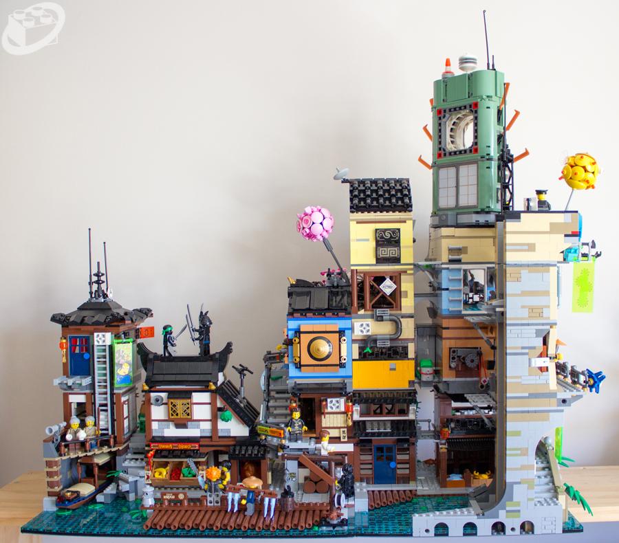 Review 70657 Ninjago City Docks Bricking Around