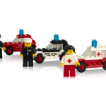 First Minifigures with their cars