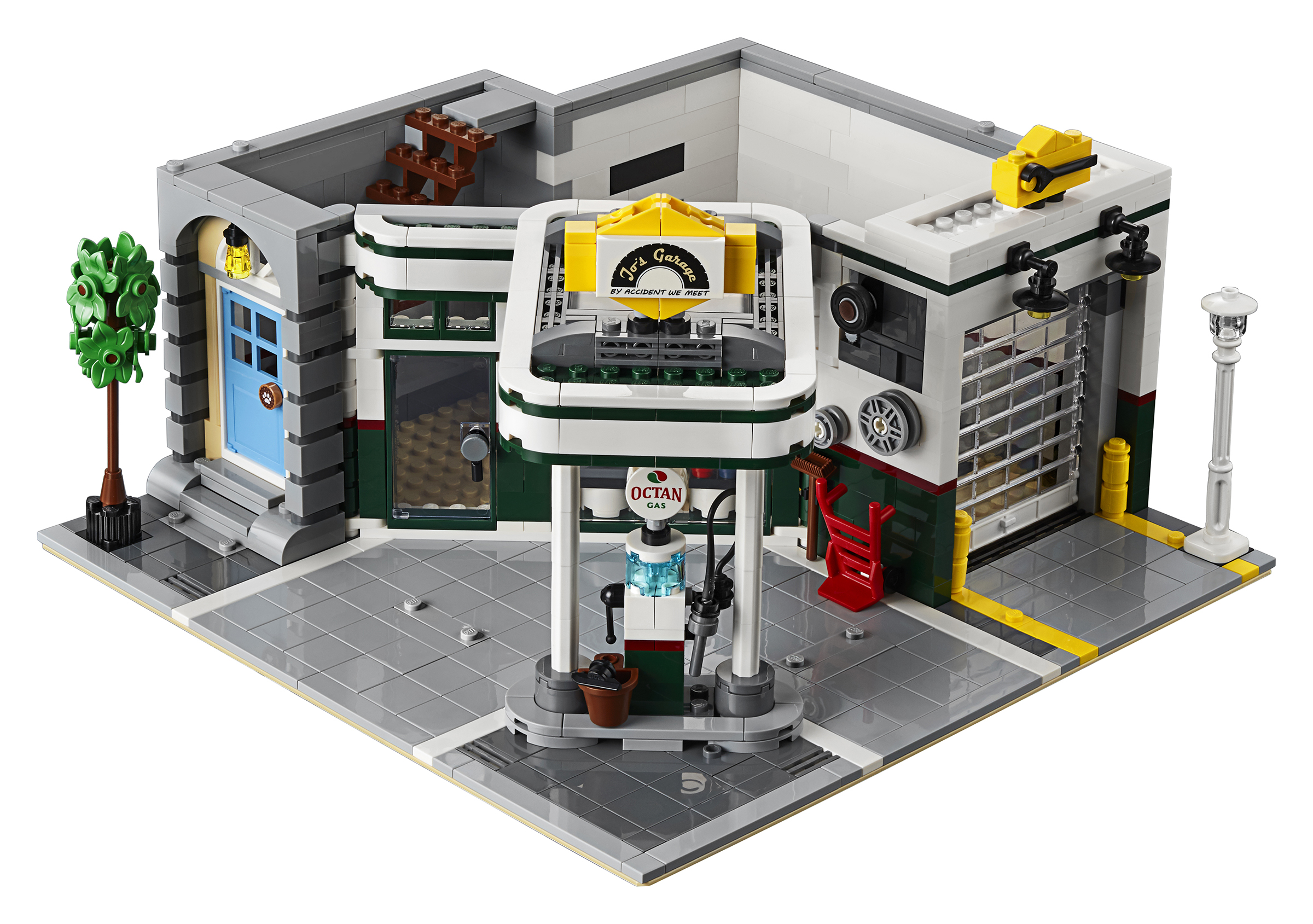 The Next Modular Building Is 10264 Corner Garage Bricking Around
