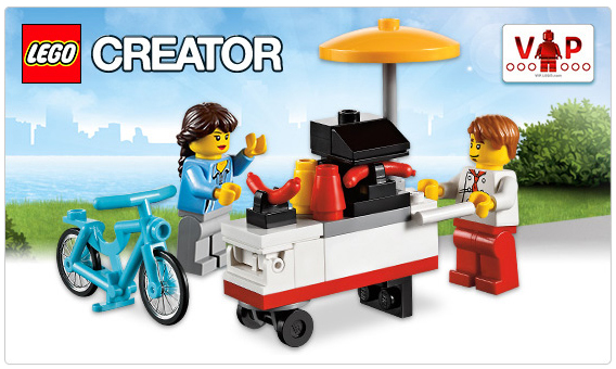 LEGO 40078 Hot Dog Stand