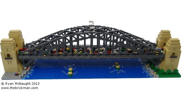 LEGO Sydney Harbour Bridge