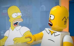 The Simpsons Brick Like Me