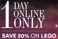 David Jones One Day Online 20pc Off