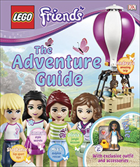 LEGO Friends Adventure Guide Cover