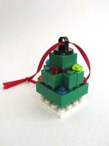 LEGO Fed Square Tree Ornament