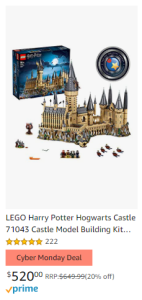 amazon-cyber-monday-2020-hogwarts